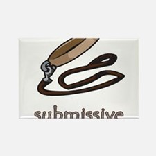 Dog Collar Submissive Rectangle Magnet