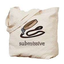 Dog Collar Submissive Tote Bag
