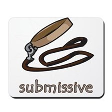 Dog Collar Submissive Mousepad