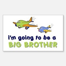 :::big brother plane front only ::: Decal