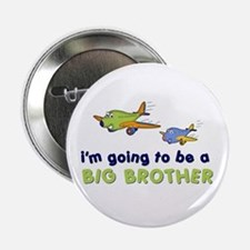 ":::big brother plane front only ::: 2.25"" Button"