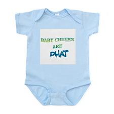 BABY CHEEKS ARE PHAT Infant Bodysuit