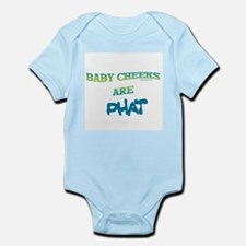 BABY CHEEKS ARE PHAT Infant Bodysuit