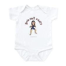 Light Wrestler Infant Bodysuit