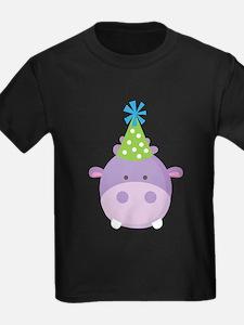 Birthday Hippo T-Shirt