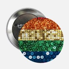 "sequin pride flag 2.25"" Button (100 pack)"