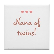 Nana of twins! Tile Coaster