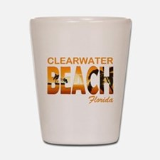 Florida - Clearwater Beach Shot Glass