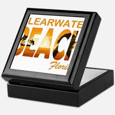Florida - Clearwater Beach Keepsake Box