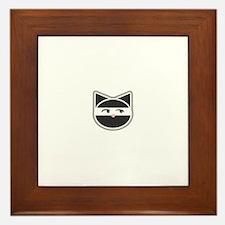 Cute Ninja Framed Tile