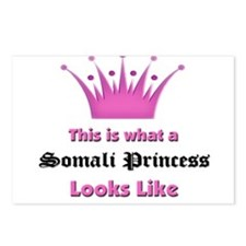 This is what an Somali Princess Looks Like Postcar
