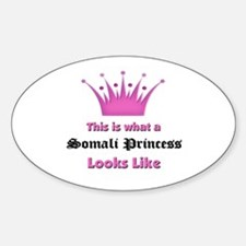 This is what an Somali Princess Looks Like Decal