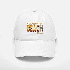 Florida - Clearwater Beach Baseball Baseball Cap