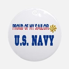"Lt. Commander ""Pride"" Ornament (Round)"
