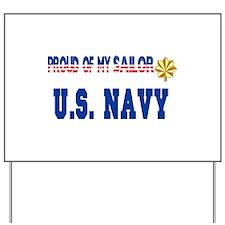 "Lt. Commander ""Pride"" Yard Sign"