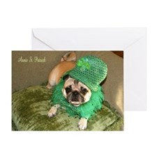Annie St Patrick's Day Greeting Card
