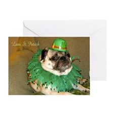 Lana St Patrick's Day Greeting Card