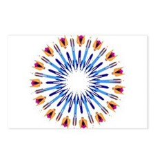 Kaleidoscope 003d Postcards (Package of 8)