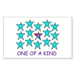 ONE OF A KIND Rectangle Sticker