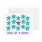 ONE OF A KIND Greeting Cards (Pk of 10)