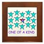 ONE OF A KIND Framed Tile