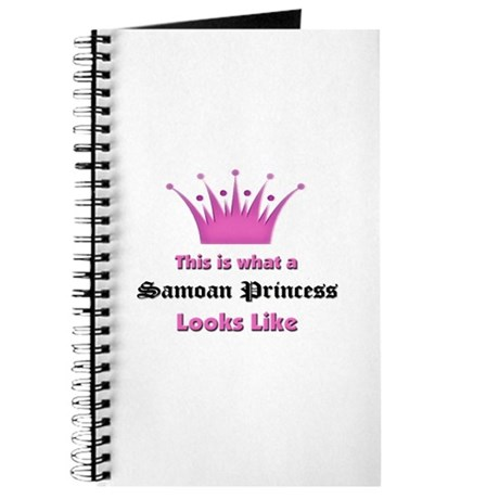 This is what an Samoan Princess Looks Like Journal