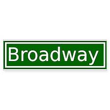 Broadway Bumper Bumper Sticker