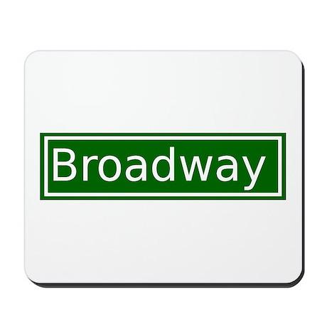 Broadway Mousepad