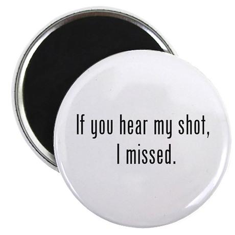 "Hear Shot 2.25"" Magnet (100 pack)"