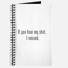 Hear Shot Journal