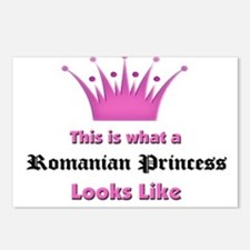 This is what an Romanian Princess Looks Like Postc