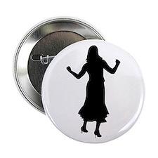 """Dancing Girl 2.25"""" Button"""