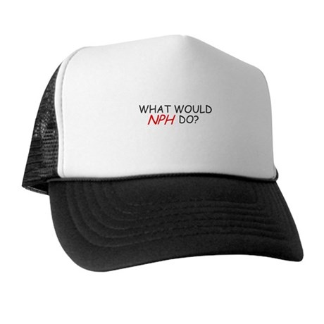 WHAT WOULD NPH DO SHIRT NEIL Trucker Hat