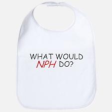 WHAT WOULD NPH DO SHIRT NEIL  Bib