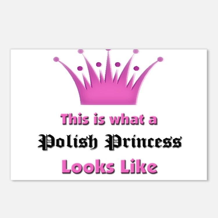 This is what an Polish Princess Looks Like Postcar
