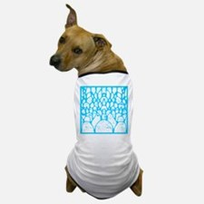 Pebbles Blue and White Dog T-Shirt