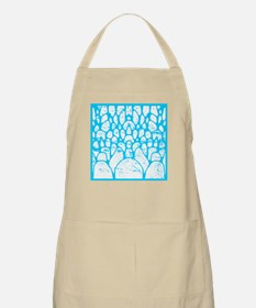 Pebbles Blue and White BBQ Apron