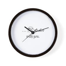 Unique Episcopal Wall Clock