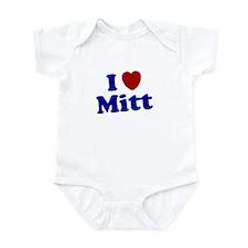 I LOVE MITT T-SHIRT MITT ROMN Infant Bodysuit