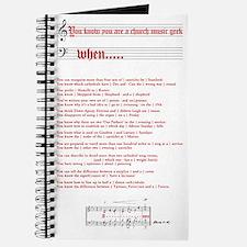 Church Music Geek Journal