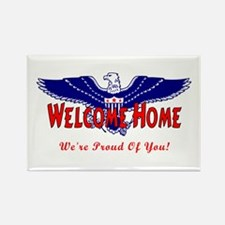 Military Welcome Home Rectangle Magnet