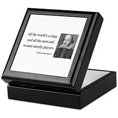Shakespeare 1 Keepsake Box