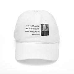 Shakespeare 1 Baseball Cap