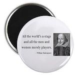 Shakespeare 1 Magnet