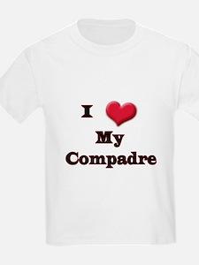 I Love (Heart) My Compadre T-Shirt
