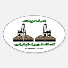 Syria Oilfields Oval Decal