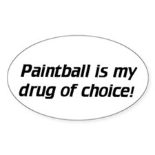 Paintball / Choice - Euro Oval Decal