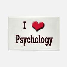I Love (Heart) Psychology Rectangle Magnet