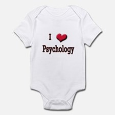 I Love (Heart) Psychology Infant Bodysuit