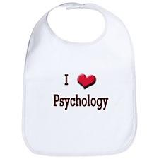 I Love (Heart) Psychology Bib